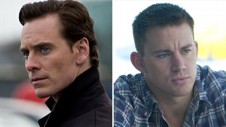 Michael Fassbender and Channing Tatum