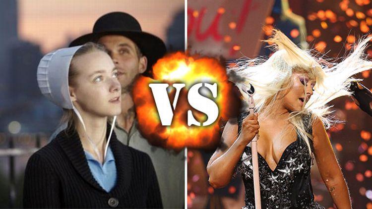 Breaking Amish/Christina Aguilera at AMAs