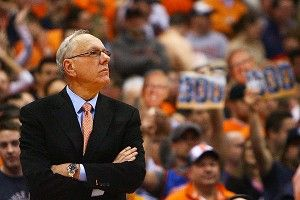 Coach Jim Boeheim of the Syracuse Orange