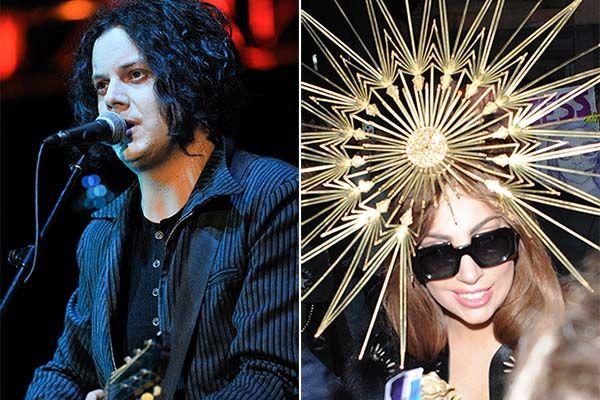 Jack White and Lady Gaga
