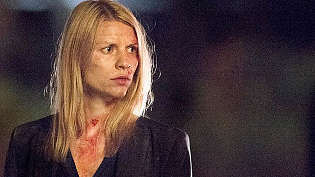 Claire Danes on Homeland