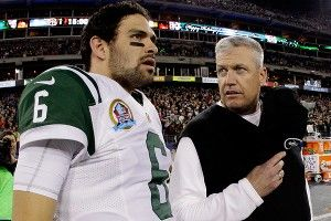 Mark Sanchez, Rex Ryan