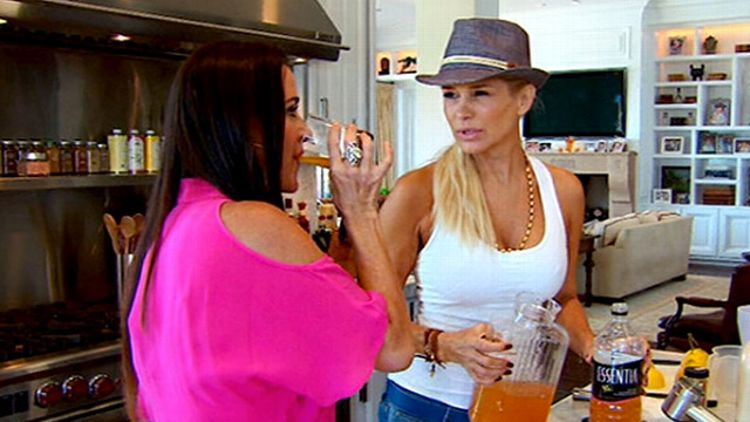Kyle Richards and Yolanda Foster