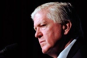 Toronto Maple Leafs General Manager Brian Burke