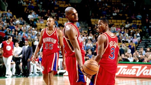Allen Iverson and Jerry Stackhouse