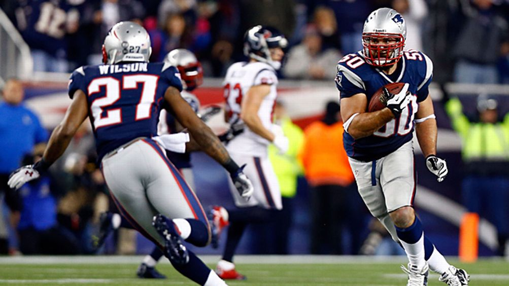 Rob Ninkovich #50 of the New England Patriots