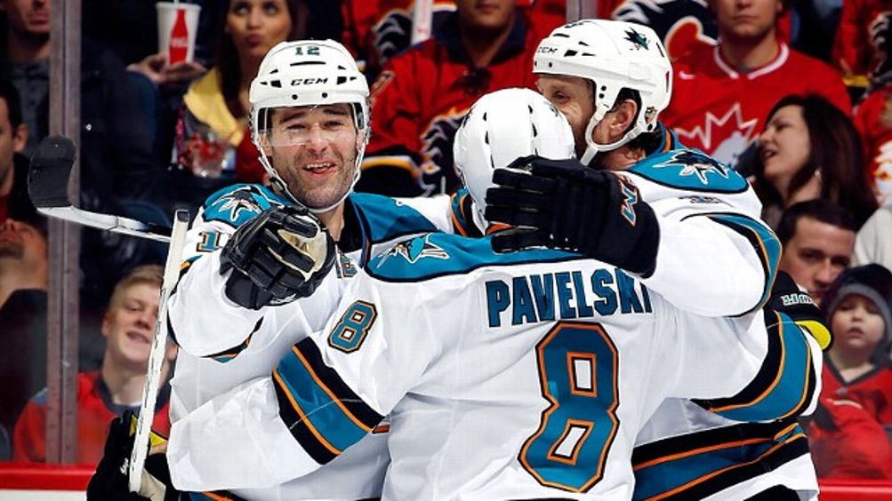 Patrick Marleau, Joe Pavelski, Joe Thornton