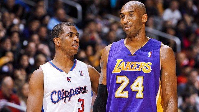 Chris Paul, Kobe Bryant