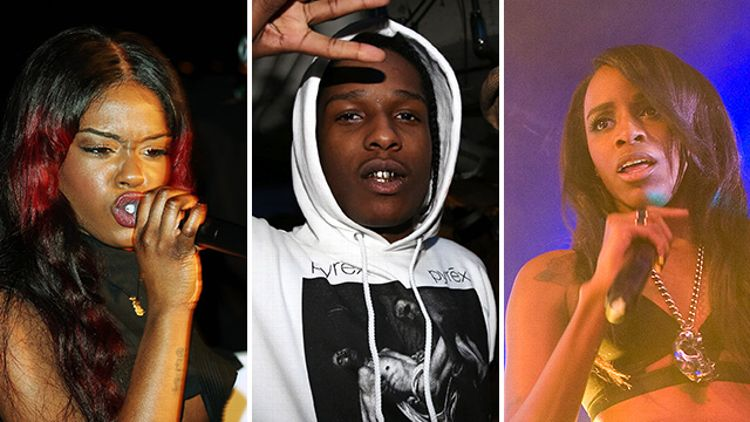 Azealia Banks, A$AP Rocky, Angel Haze