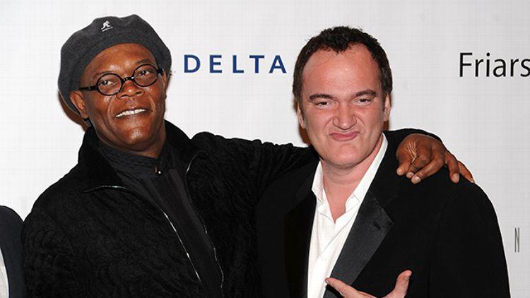Samuel L. Jackson and Quentin Tarantino