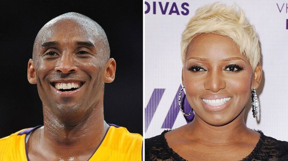 Kobe Bryant and Nene Leakes
