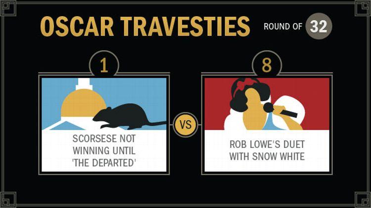 Oscar Travesties round of 32