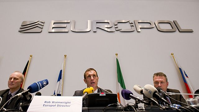 Europol's chief Rob Wainwright