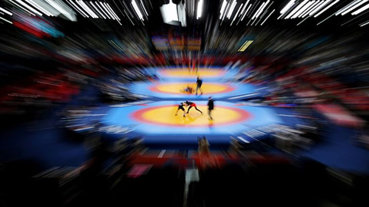 wrestling at the London 2012 Olympic Games