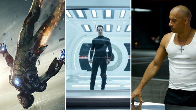 Iron Man 3, Star Trek Into Darkness, Fast & Furious 6
