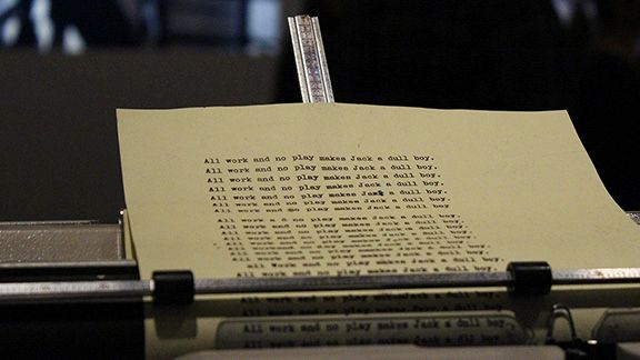 Typewriter, Stanley Kubrick at LACMA