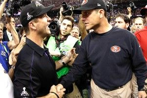 John, Jim Harbaugh