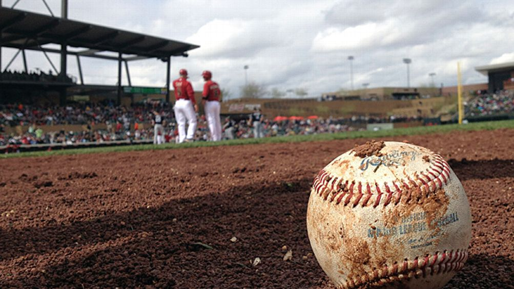 muddy baseball