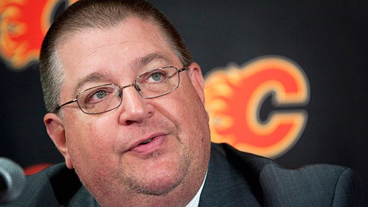 Calgary Flames general manager Jay Feaster