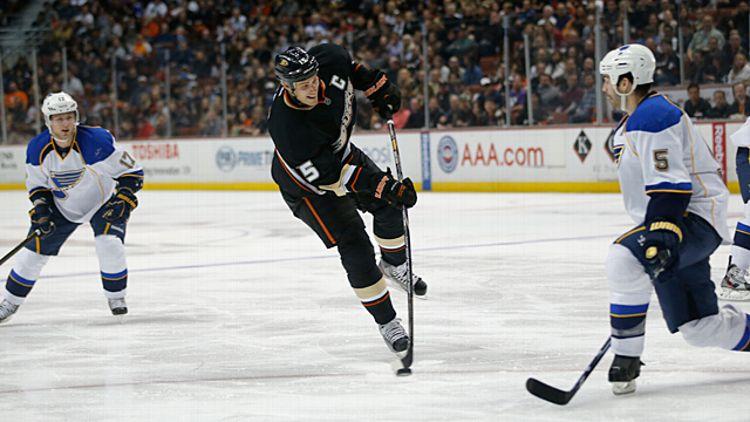 Anaheim Ducks' Ryan Getzlaf