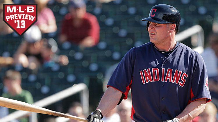 Cleveland Indians' Jason Giambi