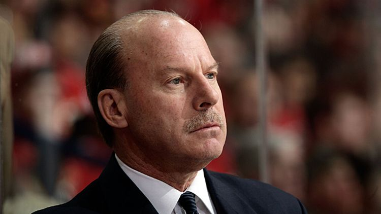 Head coach Mike Keenan