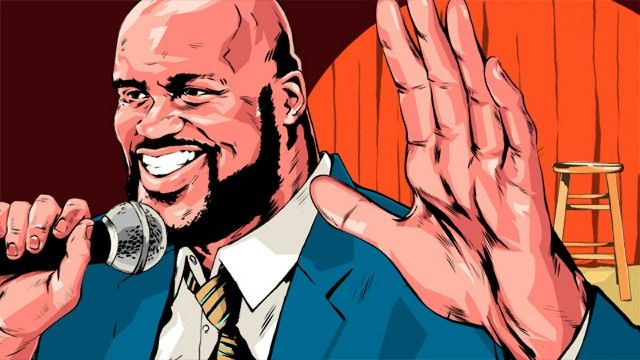 shaq illustration