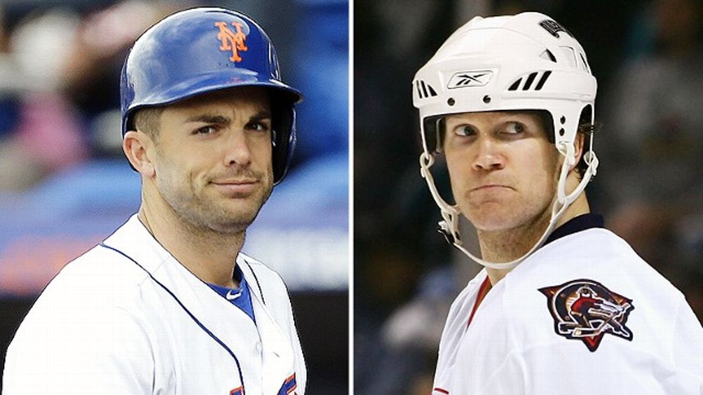 David Wright and Chris Pronger