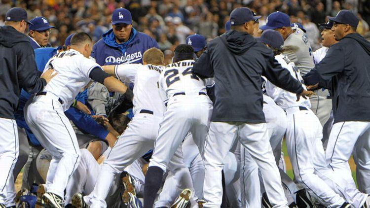 Los Angeles Dodgers, San Diego Padres