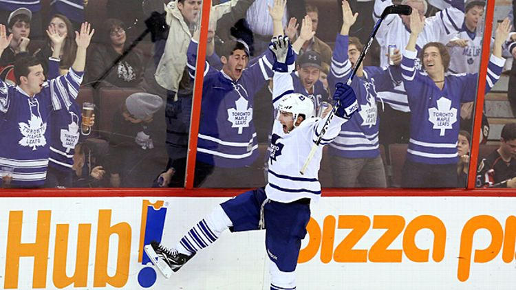 Toronto Maple Leafs' Joffrey Lupul