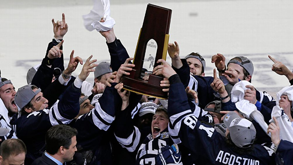 Yale captain Andrew Miller