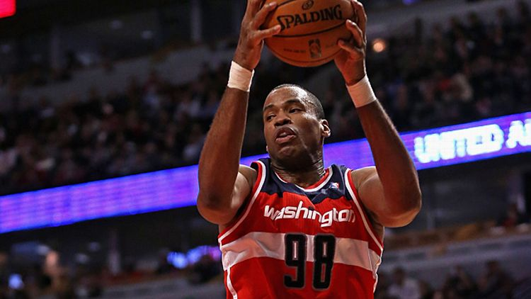 Jason Collins of the Washington Wizards