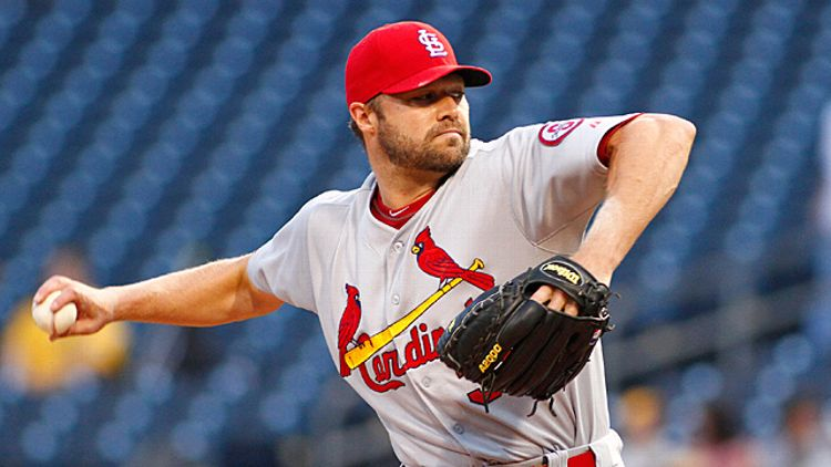 Jake Westbrook #35 of the St. Louis Cardinals