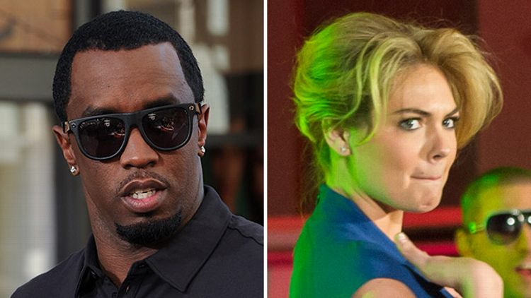 Diddy and Kate Upton