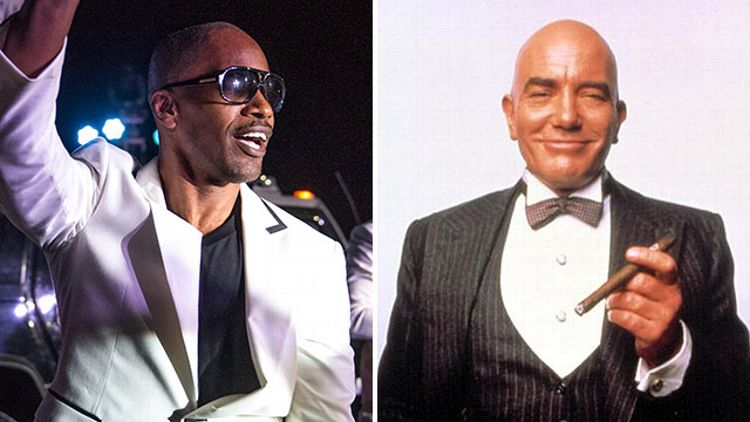 Jamie Foxx and Daddy Warbucks