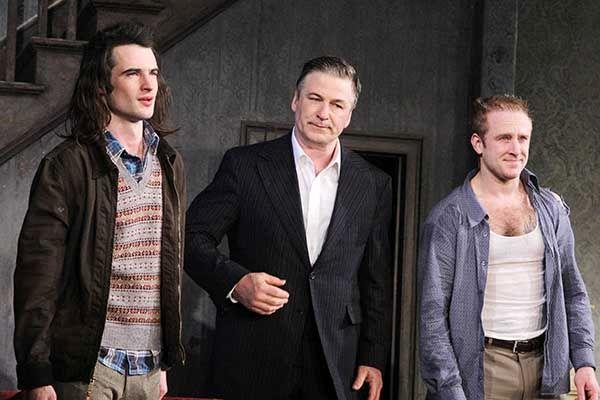Tom Sturridge, Alec Baldwin, and Ben Foster