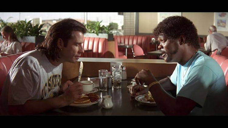 Pulp Fiction Diner Scene