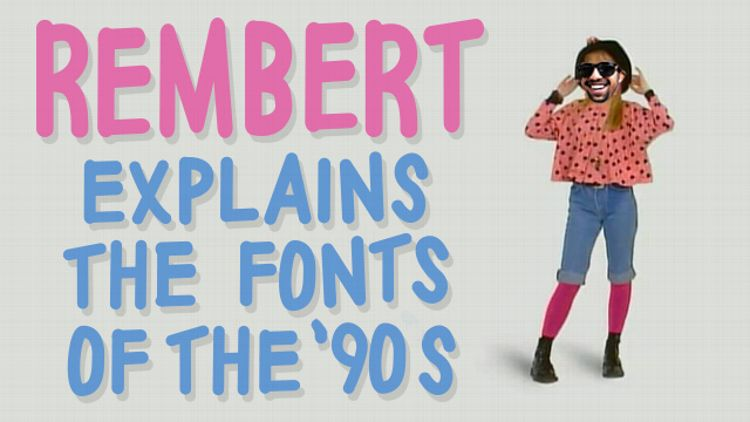 Rembert fonts