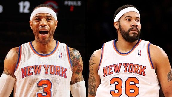 Kenyon Martin and Rasheed Wallace