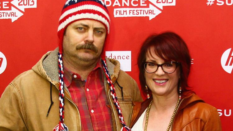 Nick Offerman, Megan Mullally
