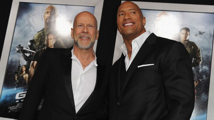 Bruce Willis, The Rock