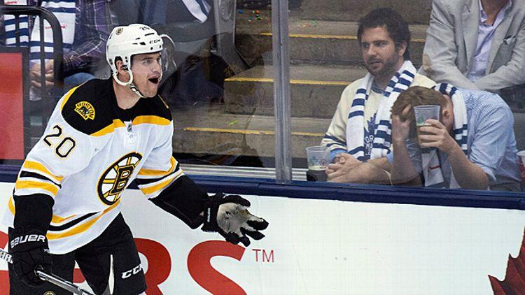 Boston Bruins forward Daniel Paille