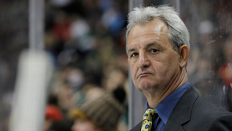 Los Angeles Kings head coach Darryl Sutter