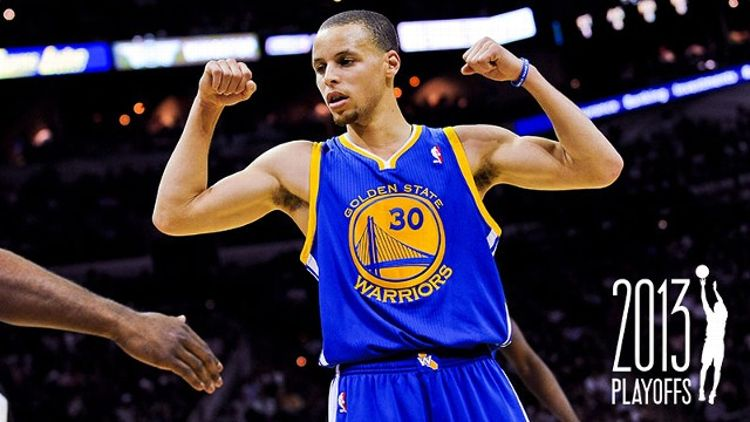 8a1b03d1297 ... Stephen Curry  30 of the Golden State Warriors celebrates while playing  the San Antonio Spurs