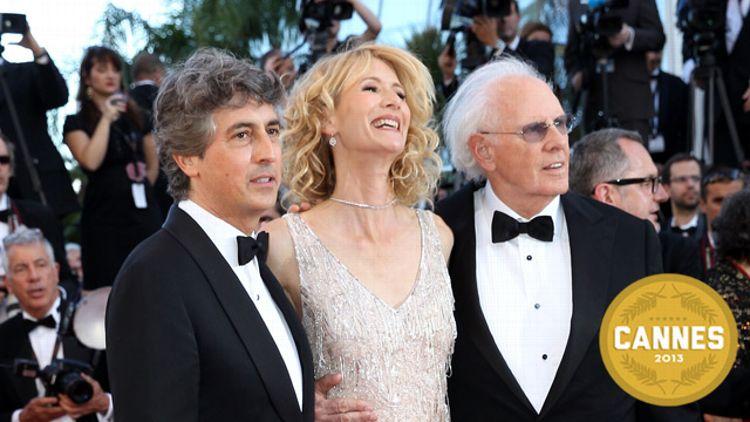 Alexander Payne, Laura Dern and Bruce Dern