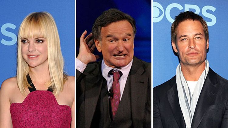 Anna Faris, Robin Williams, Josh Holloway