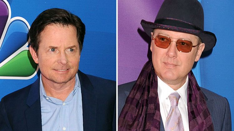 Michael J. Fox and James Spader