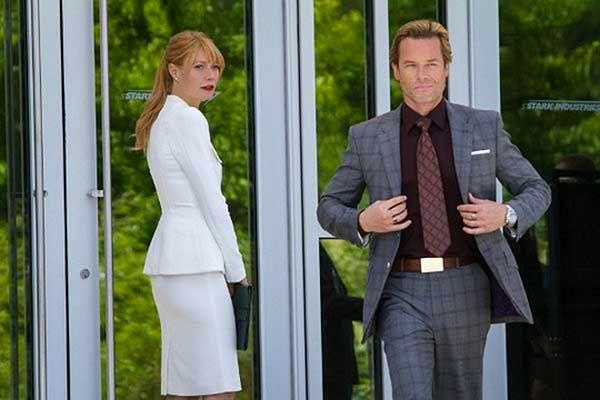 Gwyneth Paltrow and Guy Pearce in 'Iron Man 3'