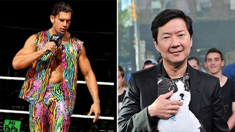 Fandango / Actor Ken Jeong appears on NEW.MUSIC.LIVE. at MuchMusic Headquarters on May 15, 2013 in Toronto, Canada.