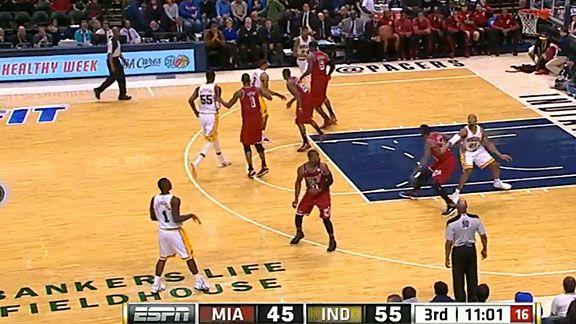 Lance Lob - Indiana v. Heat